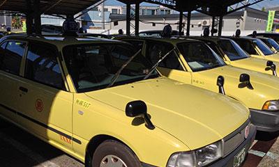 八光第一交通のタクシー車両