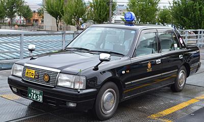 タクシー(黒)