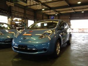 EV TAXI 電気自動車タクシー